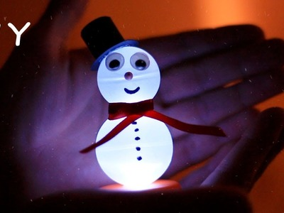DIY Electronic Snowman - Decoration For Christmas