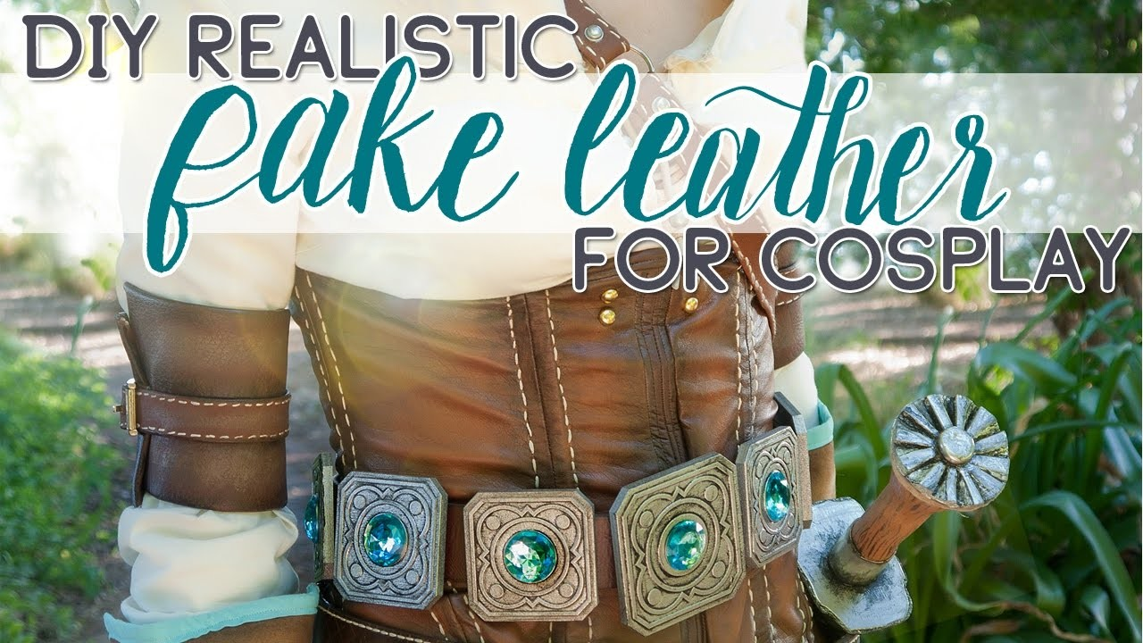 DIY: How to Create Realistic Fake Leather for Cosplay