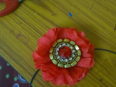 DIY | How to make artificial flower Jadai billai (Slides )