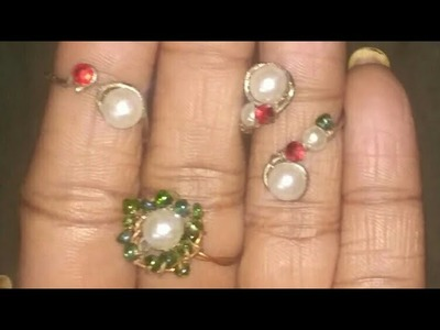 Diy how to make simple  ring using electric wire