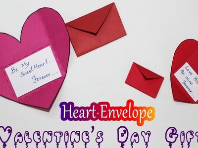 DIY Origami Heart Envelope