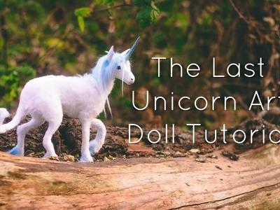 "DIY ""The Last Unicorn"" Art Doll Tutorial"