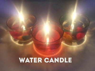 DIY-Water Candle with tutorials