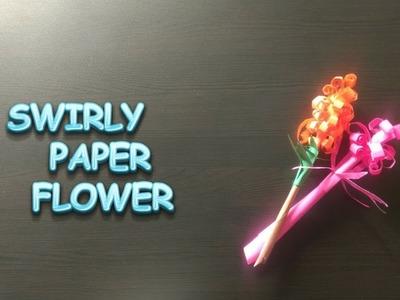 Easy Paper Flower | Swirly Paper Flower | DIY Crafts | StoryAtoZ.com Hindi (Craft)