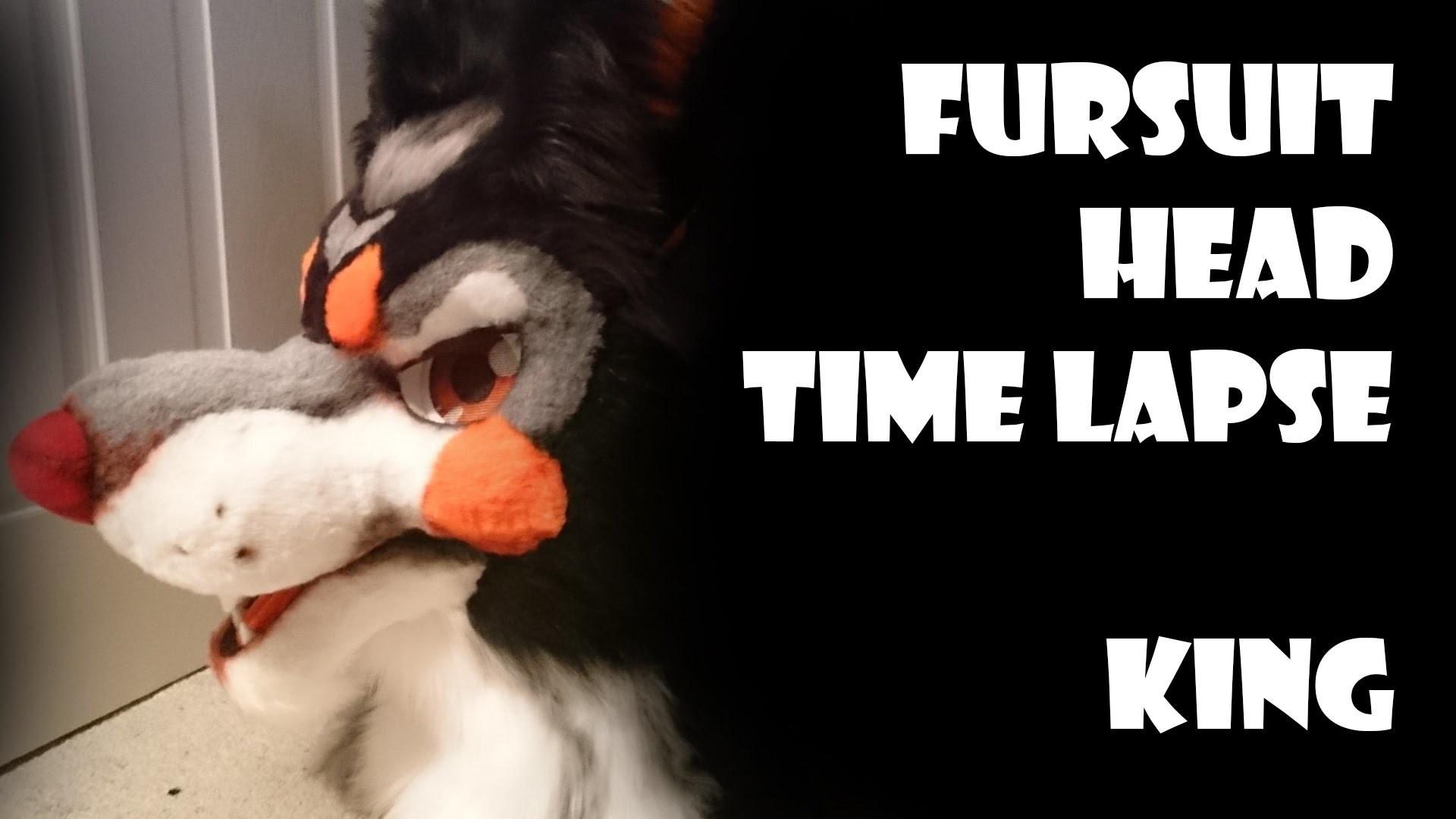Fursuit Building Time Lapse - King - Part 3