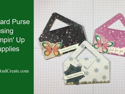 Gift Card Purse using Stampin' Up Products