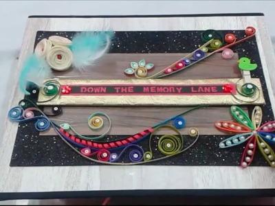 Handmade Scrapbook | Diy Photo Album | For Friend | For Sister