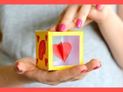 Heart Box Valentine's Day Craft for Kids