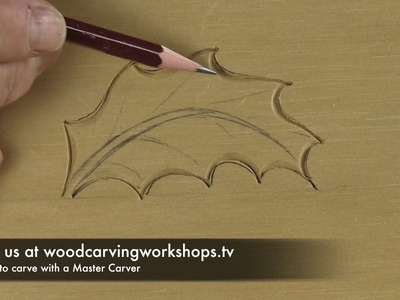 How To Carve a Holly Leaf