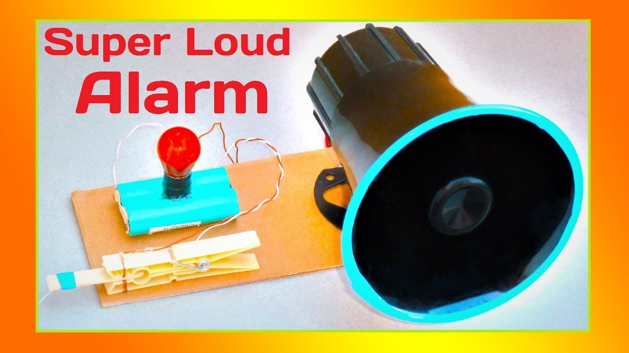 █ How to Make a Door Alarm at home █