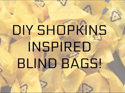 How To Make DIY Shopkin Inspired Blind Bags!?