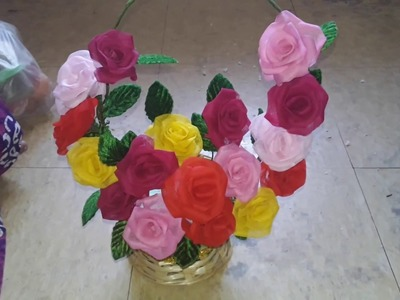 How to make flower pardi (artificial flower)