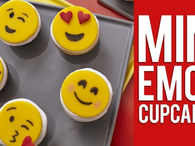 How to Make Mini Emoji Cupcakes