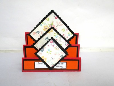 How To Make Oriental Style Stepper Card   Full Tutorial By Sugi Majhi