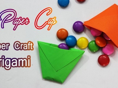 How To Make Origami Paper Cup