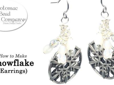 How to Make Winter Frost (Snowflake) Earrings jpg