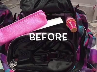 How To ORGANIZE Your School Bag And Desk