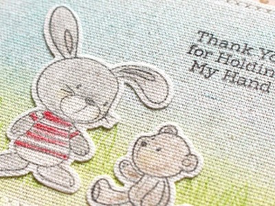 How to Stamp on Fabric