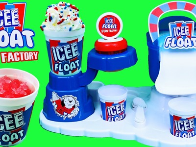 Icee Ice Cream Maker & Shaved Ice Slushy Toy Review