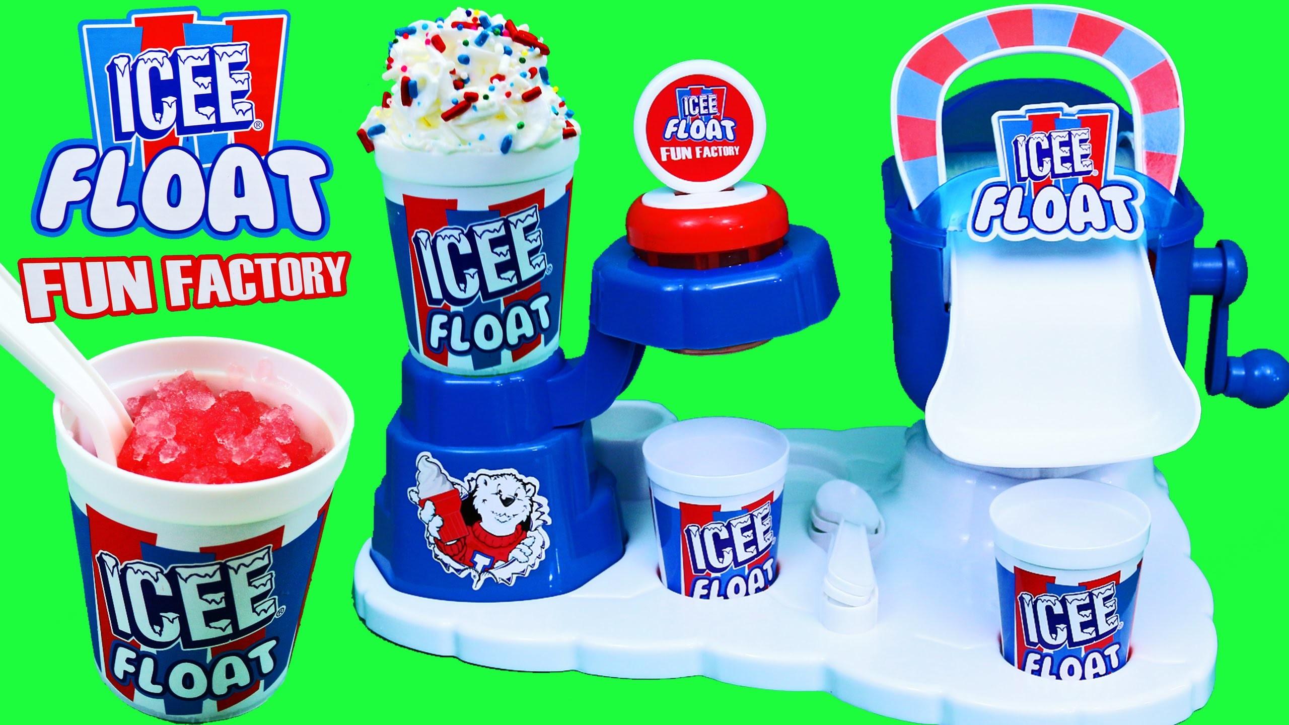 Icee Ice Cream Maker & Shaved Ice Slushy Toy Review