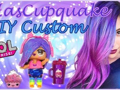 IHasCupquake ???? Custom LOL Surprise Doll! DIY Tutorial