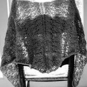 INTO THE WOODS SPRING SHAWL - KNITTING PATTERN