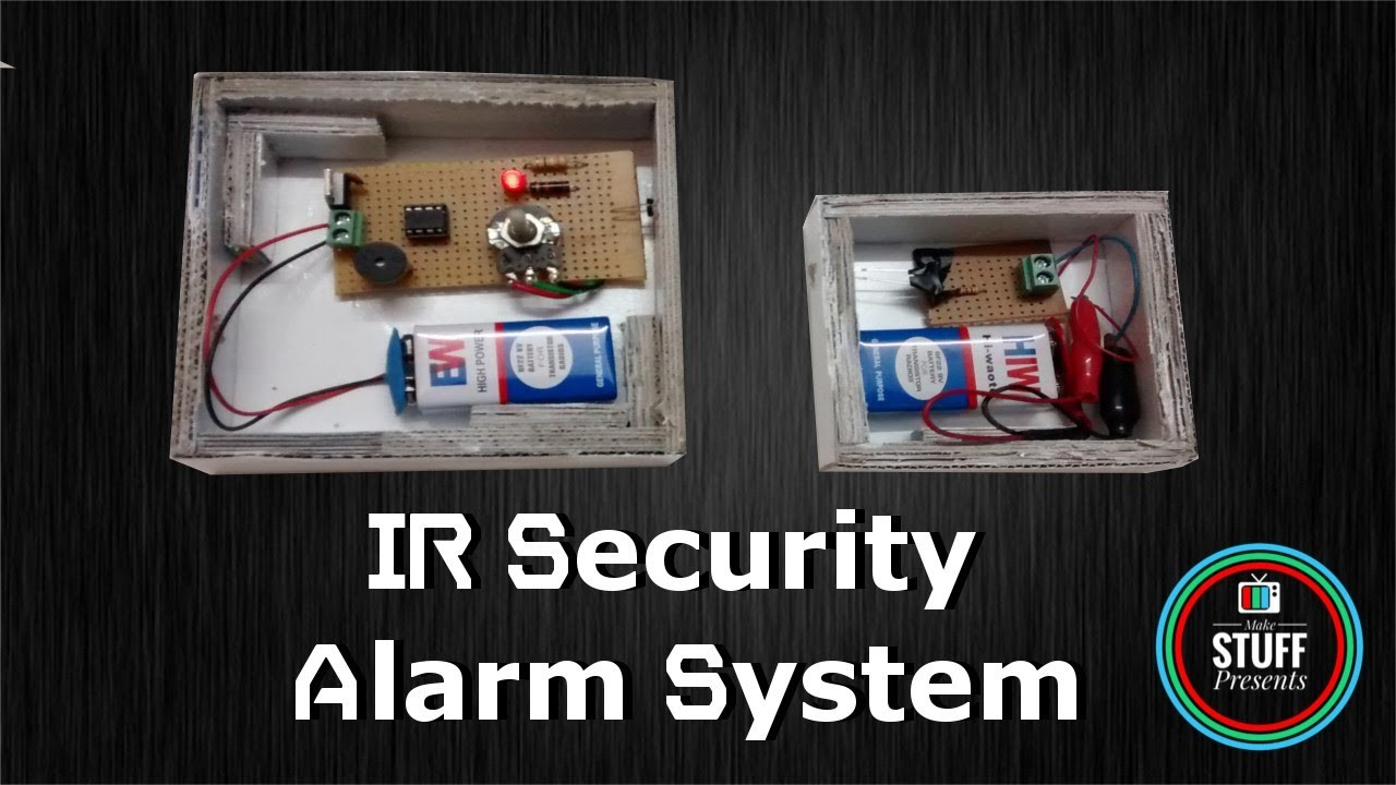 Summary Infrared Ir Based Security Alarm Circuit Using 555 Timer