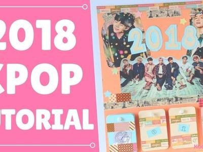 【KPOP DIY】 BTS 2018 Calendar Tutorial ♥! (Eng.Esp)
