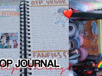 Kpop Journal Flip Through + Supplies I Use! (Incomplete)