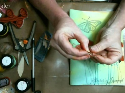 Learn how to bind your own Art Journal