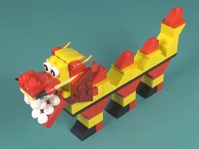Lego Dragon (001) Building Instructions - LEGO Classic How To Build - DIY
