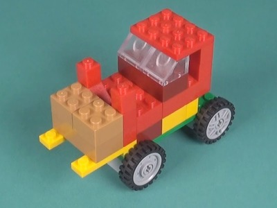 Lego Forklift (001) Building Instructions - LEGO Classic How To Build - DIY