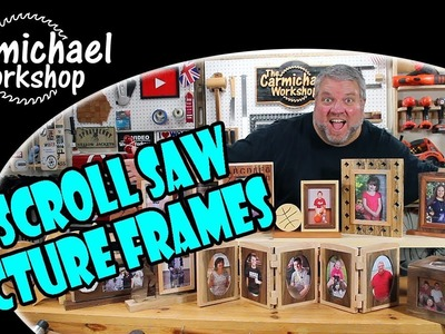 Make 15 Picture Frames with a Scroll Saw | Woodworking Projects