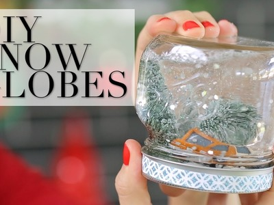 Make These Easy Snow Globes at Home for Christmas