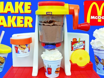 McDonalds Shake Maker Tutorial of the Happy Meal Magic Ice Cream Toy
