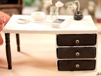 Miniature Table    Matchbox Craft    DIY