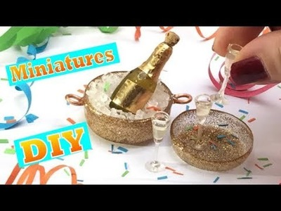 Party miniatures- perfect for dollhouses! Easy and fun to make!
