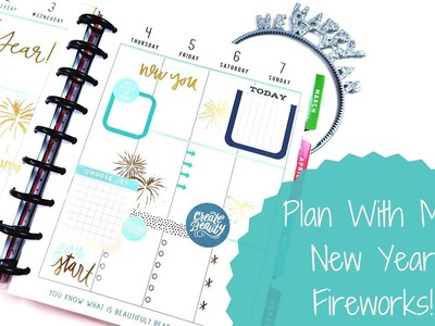 Plan With Me: New Year Fireworks!
