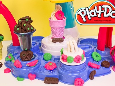Play Doh Magic Swirl Ice Cream Shoppe - Toy Review