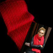 SEX & THE CITY CARRIE'S RED SCARF - Knitting Pattern