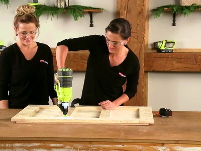 Shanty 2 Chic & RYOBI Nation - How-To Build a Toy Chest