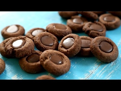 Thumbprint Cookies Recipe | Chocolate Cookies - Tea Time Snack | The Bombay Chef - Varun Inamdar