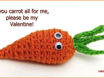 Crochet Tutorial: Carrot Amigurumi