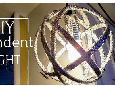 DIY Designer Pendent Light (Easiest DIY Ever)  Cheap To Make
