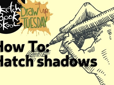 Draw Tip Tuesday - How to Hatch Shadows