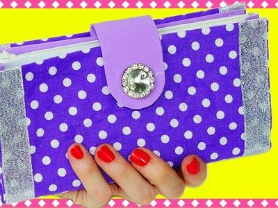 Easy DIY crafts | How to make a wallet no sew | DIY purse clutch tutorial | Julia DIY