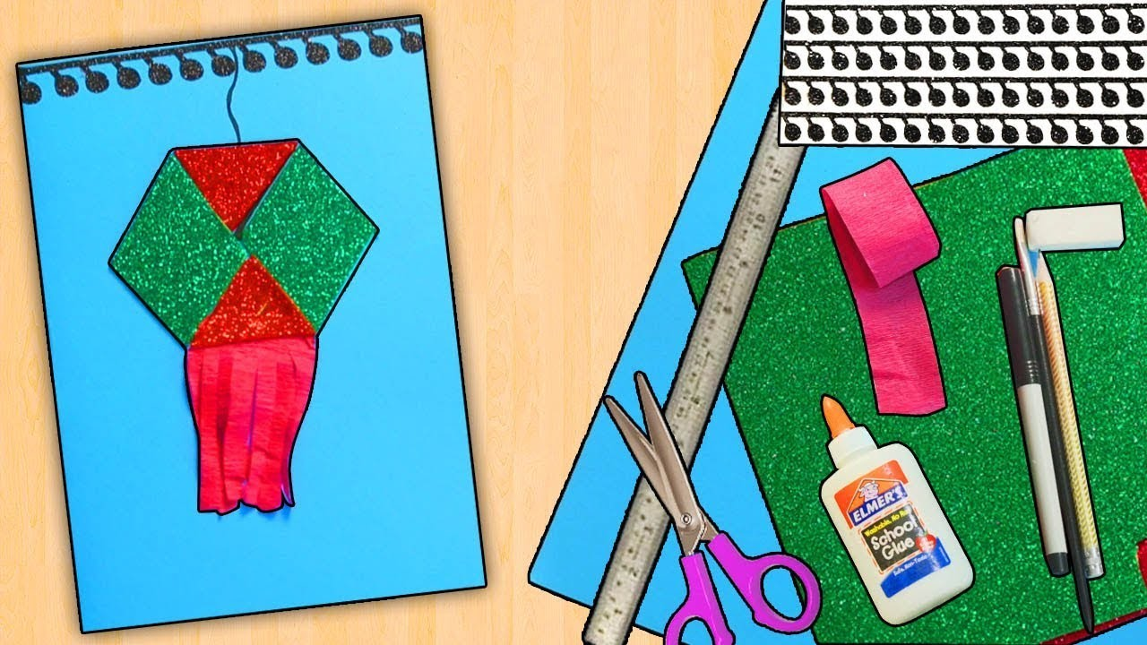 Greeting Card For Kids Easy Craft 5 Minutes Craft How To Make A Card