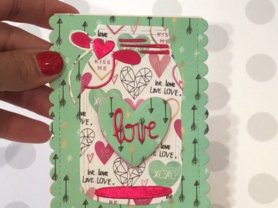 Hobby lobby Haul! New Valentine's Day Paper!!????