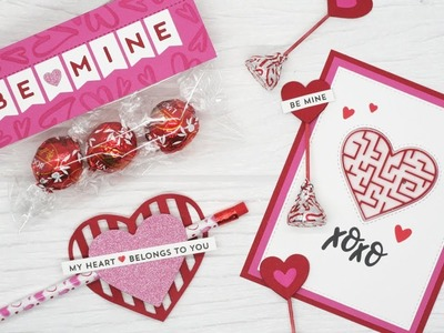 How to Create Paper Crafted Valentine Treats