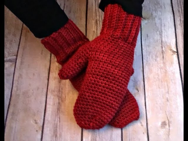 How to Crochet: Basic Mittens